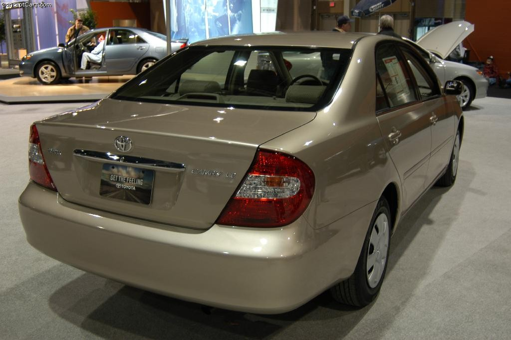 2003 Toyota Camry Pictures History Value Research News
