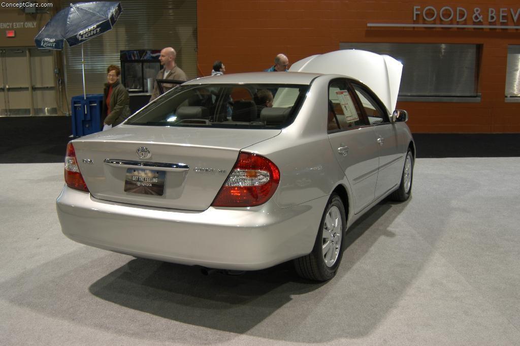 Тойота камри 2003 фото