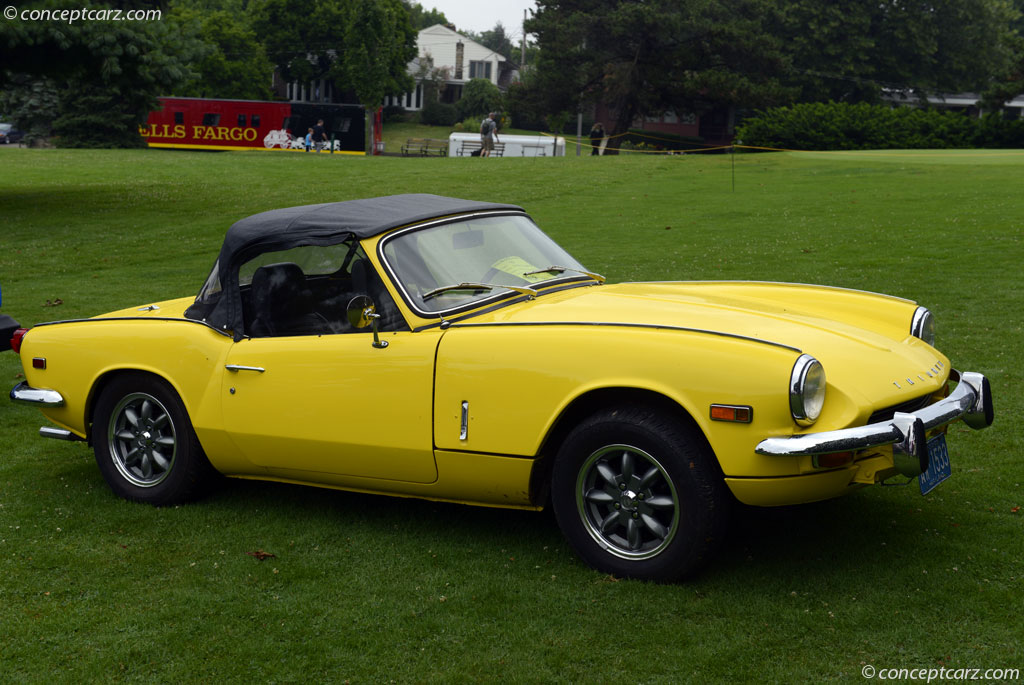Auction Results And Data For 1969 Triumph Spitfire Mk3