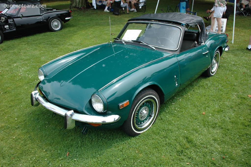 1970 Triumph Spitfire Mk3 at the PVGP Car Show