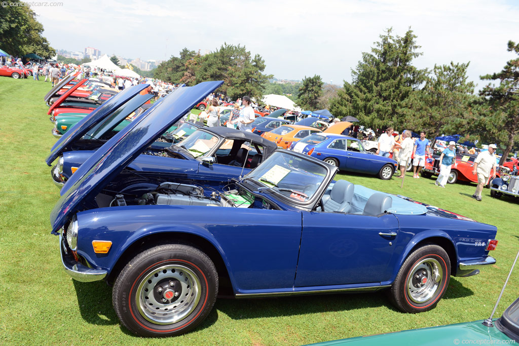 1972 Triumph Tr6 At The Pittsburgh Vintage Grand Prix