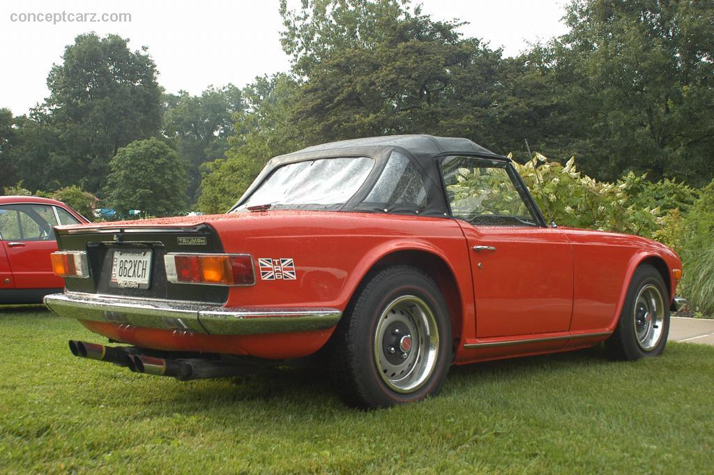 Auction Results And Data For 1973 Triumph Tr6 Barrett