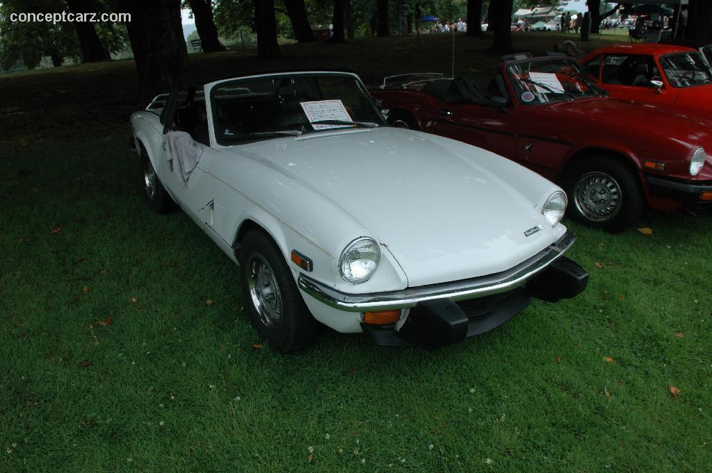 auction results and data for 1974 triumph spitfire 1500. Black Bedroom Furniture Sets. Home Design Ideas