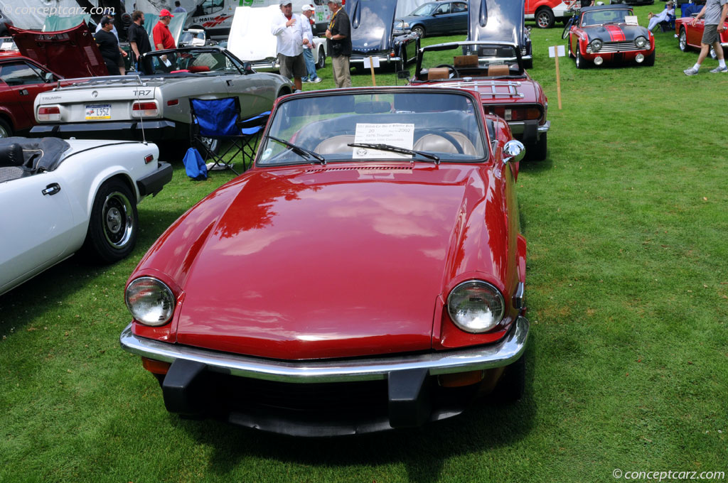 auction results and data for 1976 triumph spitfire 1500. Black Bedroom Furniture Sets. Home Design Ideas