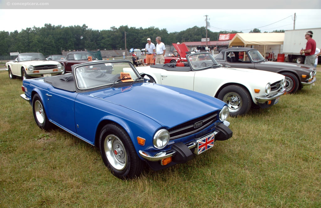 Auction results and data for 1976 Triumph TR6  conceptcarzcom