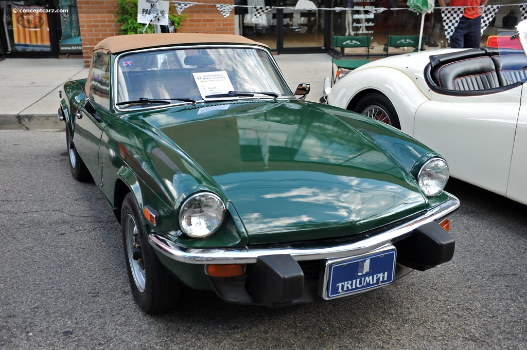 auction results and data for 1978 triumph spitfire 1500. Black Bedroom Furniture Sets. Home Design Ideas
