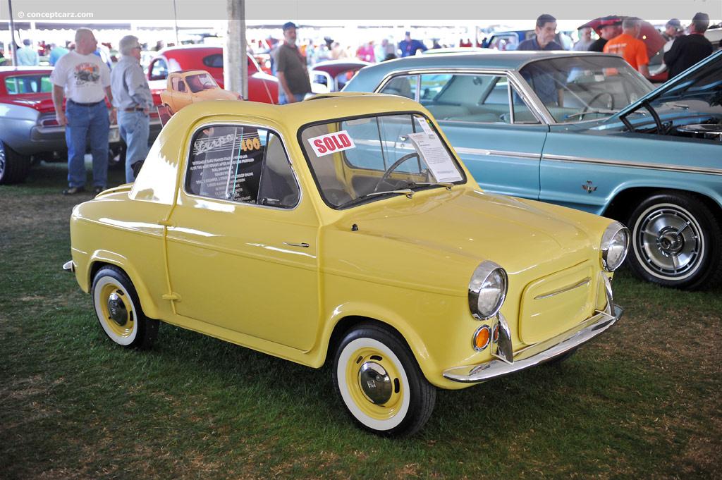 1960 Vespa 400 Conceptcarz