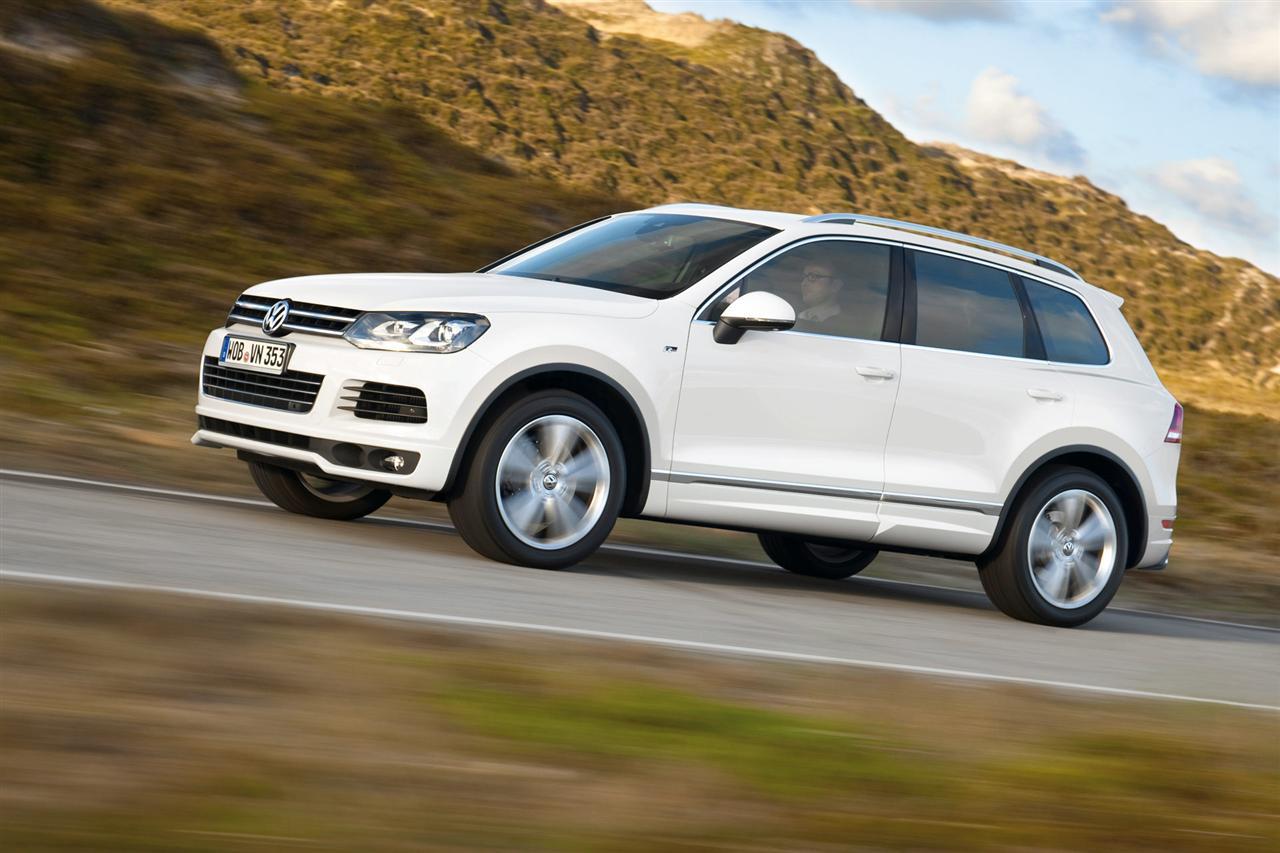 Volkswagen touareg 2017 года: масса обновлений автогиганта