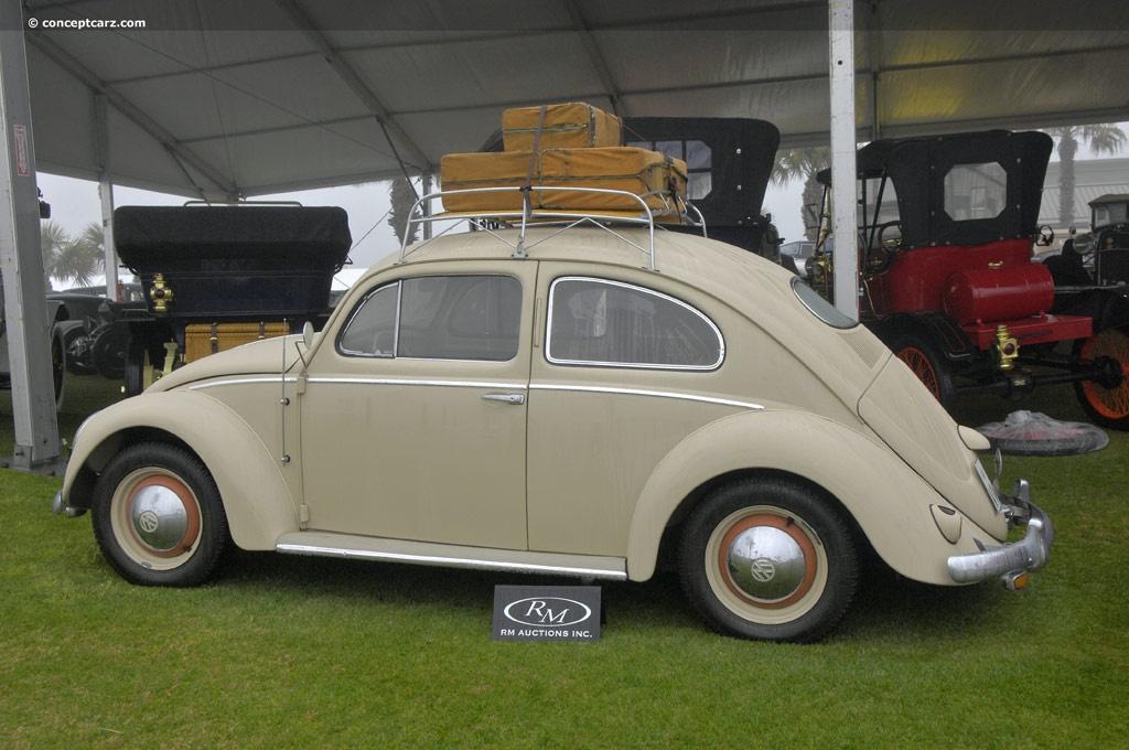1953 Volkswagen 1100 Beetle Pictures History Value