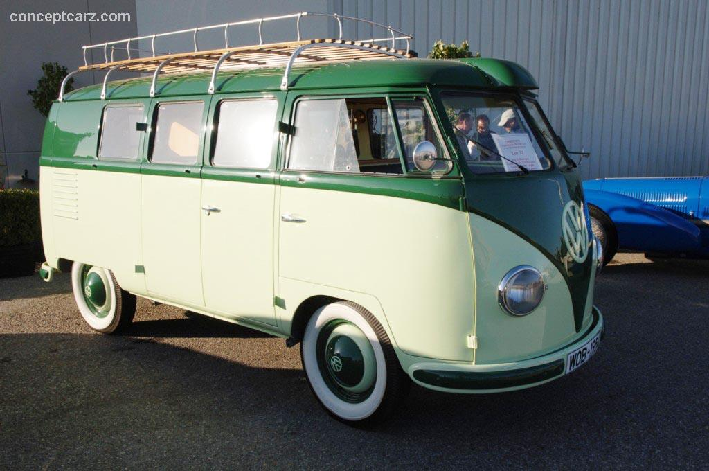 1954 volkswagen kombi model 211 microbus pictures history. Black Bedroom Furniture Sets. Home Design Ideas
