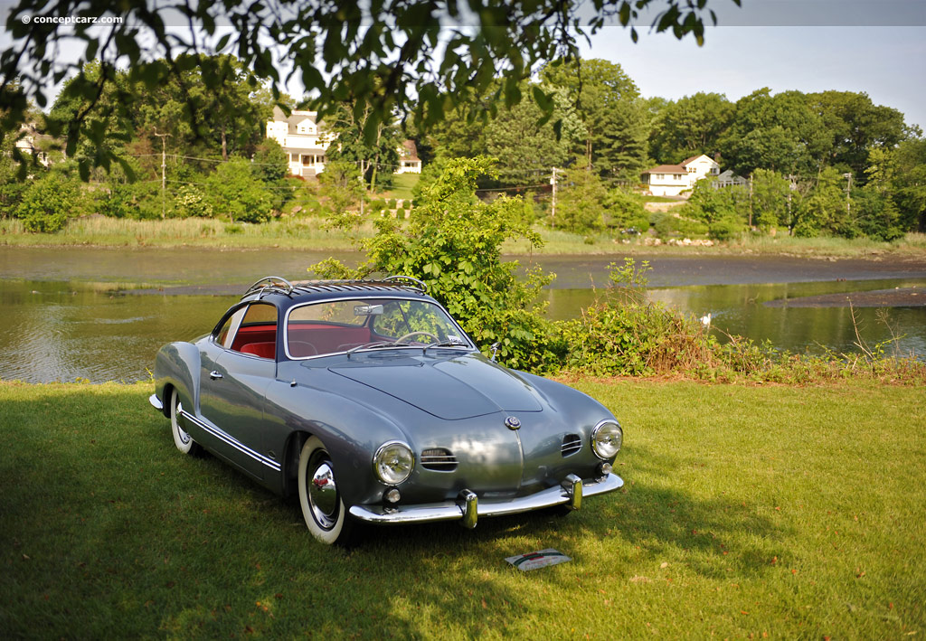 1956 volkswagen karmann ghia 1200 conceptcarz. Black Bedroom Furniture Sets. Home Design Ideas