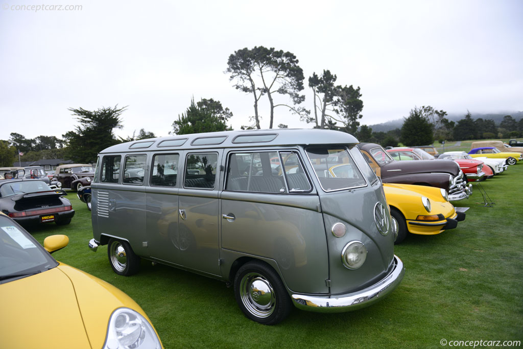 Auction results and data for 1968 volkswagen transporter for 14 window vw bus