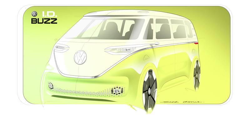 2017 Volkswagen I.D. BUZZ Concept Image