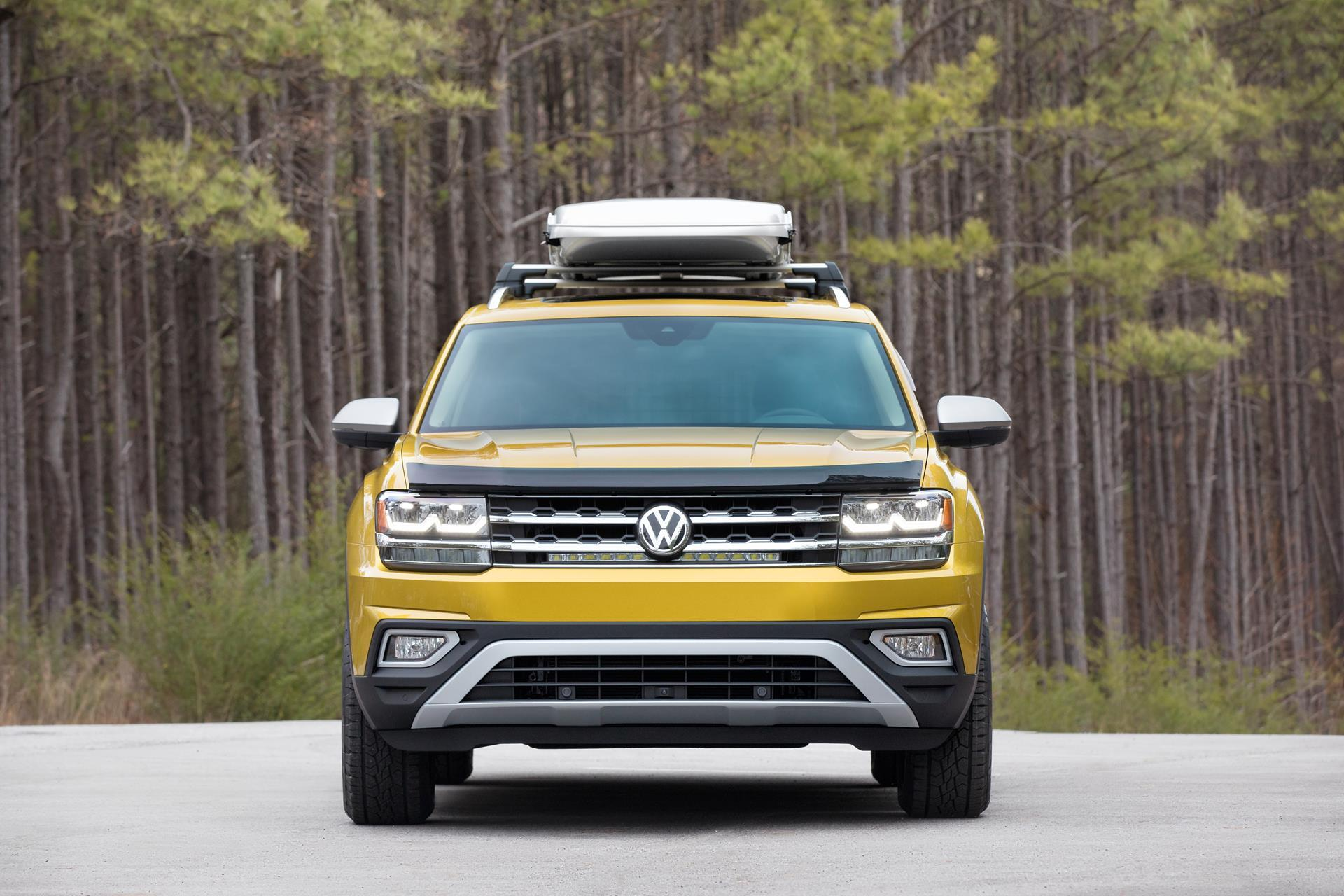 volkswagen atlas weekend edition technical specifications  data engine dimensions