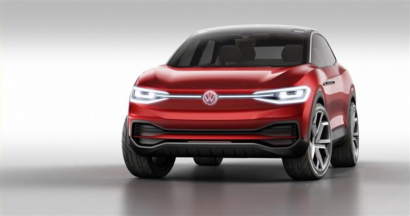2017 Volkswagen I.D. CROZZ Concept