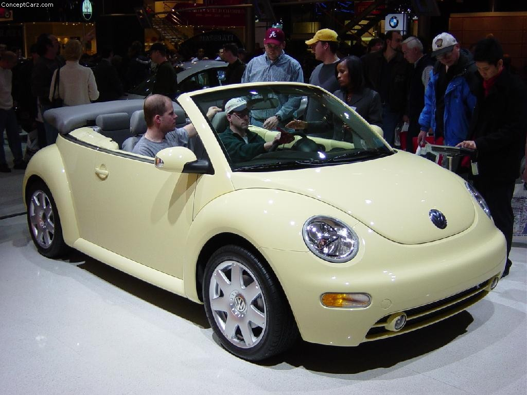 2003 volkswagen new beetle images photo vw new beetle convertible detroit 03 ac. Black Bedroom Furniture Sets. Home Design Ideas