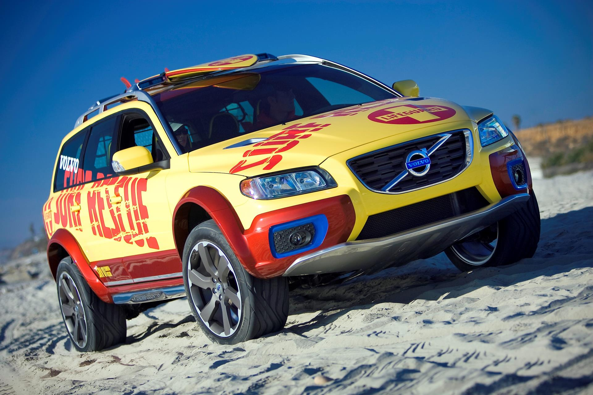 2007 volvo xc70 surf rescue safety concept pictures history value research news. Black Bedroom Furniture Sets. Home Design Ideas
