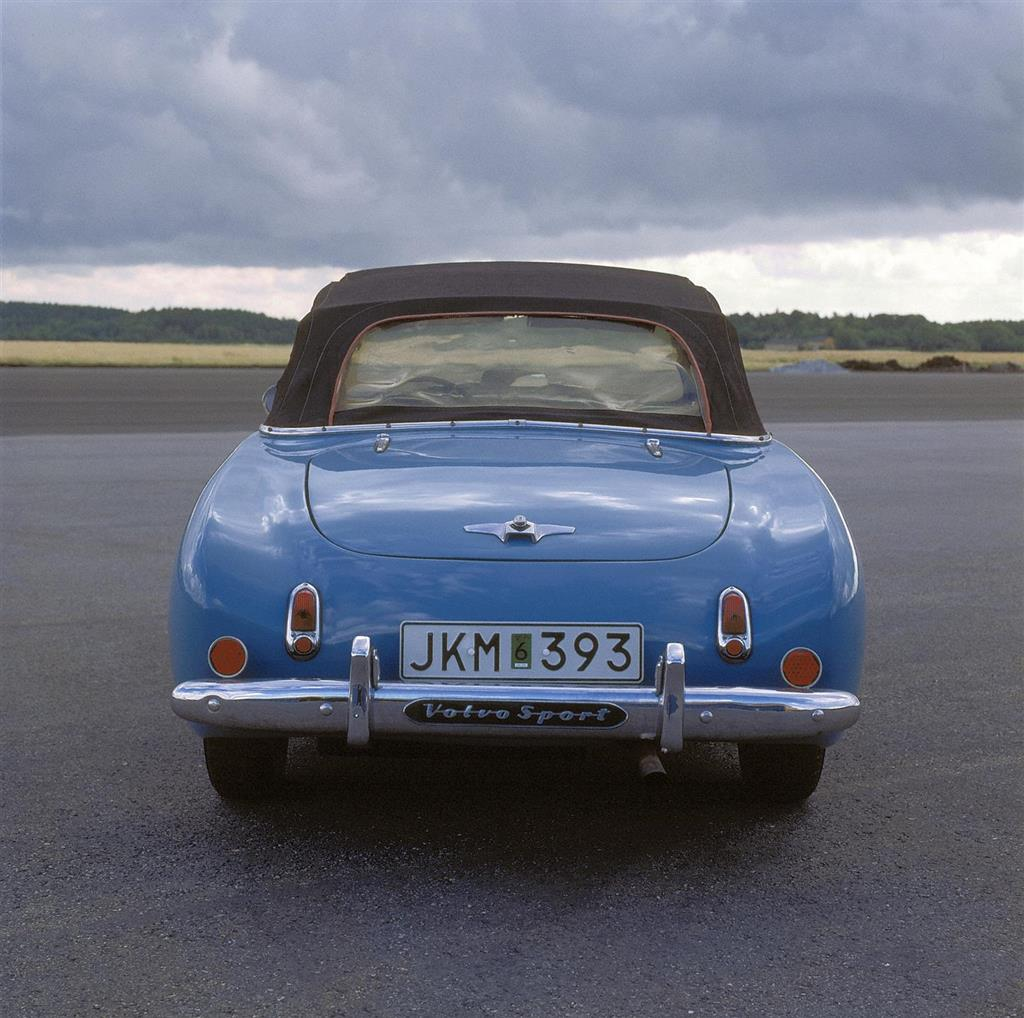 Auction Results And Data For 1956 Volvo Sport