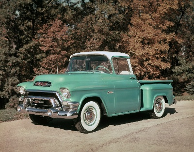 New Sierra Marks 111 Years of GMC Pickup Heritage Photo History Shows Evolution of Truck Design Through 12 Decades