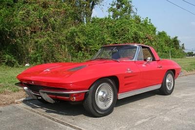 1963 Corvette Pilot Car to Cross the Block at Vicari December New Orleans Auction