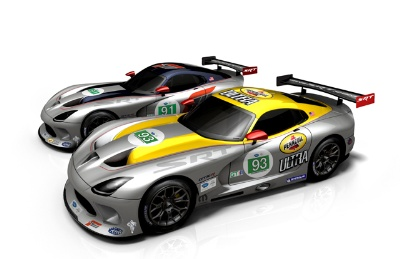 2013 SRT Viper GTS-R Set to Return to American Le Mans Series Competition at Mid-Ohio