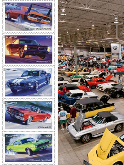 United States Postal Service Puts Its Stamp On Mecum In Indy