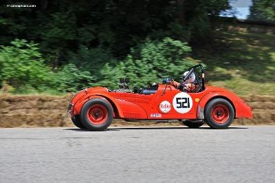Allard Automobiles Featured at 2012 Glenmoor Gathering
