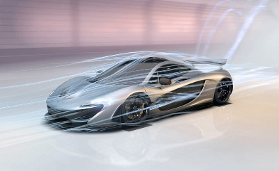 Mclaren P1™: 'Designed By Air' Interactive Experience Unleashed