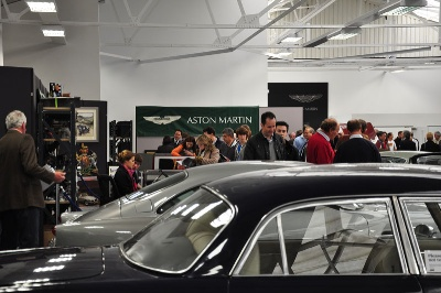 Aston Martin Works Hosts Bonhams sale At Newport Pagnell