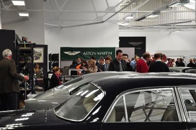 Aston Martin Works Hosts Bonhams sale At Newport Pagnell