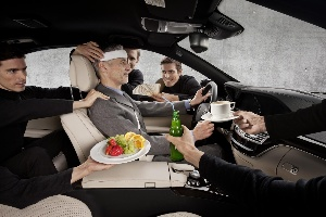 Active Comfort provides for stress-free driving and recuperation in the car