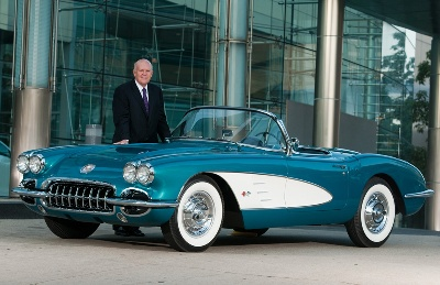 Akerson-Puts-1958-Corvette-on-Auction-Block-for-Habitat