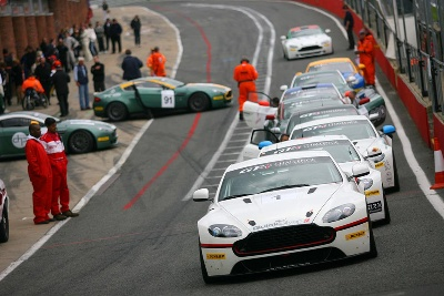ASTON MARTIN GT4 CHALLENGE CELEBRATES CENTENARY YEAR WITH MOST EXCITING SEASON TO DATE