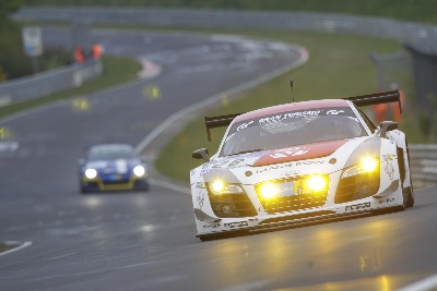 First Audi overall victory in the Nürburgring 24 Hours