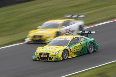 Audi, Spielberg, the DTM and the Queen