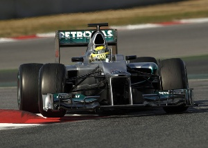 Barcelona Test - Day Three : F1 W03