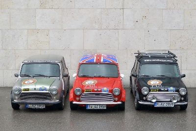 From the Bavarian Allgu to Azerbaijan in a classic Mini