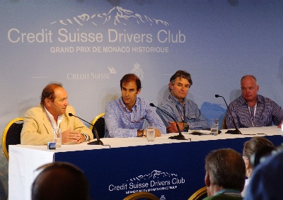 Credit Suisse Historic Racing Forum at 8th Grand Prix de Monaco Historique