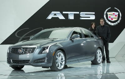 Cadillac ATS Wins 2013 North American Car of the Year