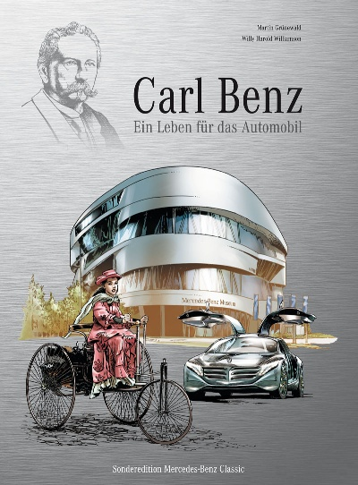 'Carl Benz – A life dedicated to cars': Automotive history in comic-book form