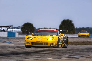 Corvette Racing Finishes Second and Third in ALMS GT in Sebring