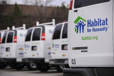 Chevrolet Donates 24 Express Vans to Habitat for Humanity