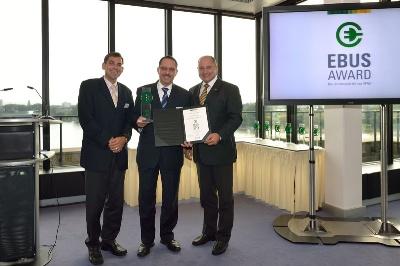 Citaro FuelCELL Hybrid wins EBUS Award