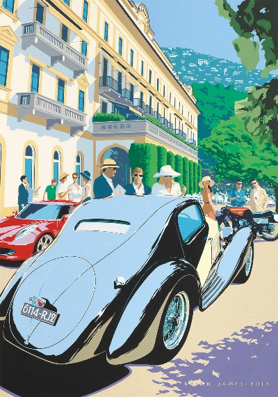Concorso d'Eleganza Villa D'Este 2013: Classic Weekend On Lake Como
