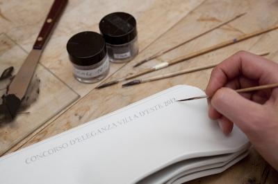 Passion in porcelain for the Concorso d'Eleganza Villa d' Este