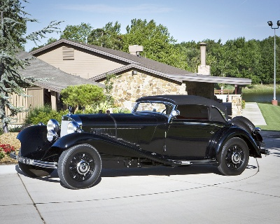 Million Dollar Motorcars meet Military Machines at the Concours d'Elegance of Texas this weekend