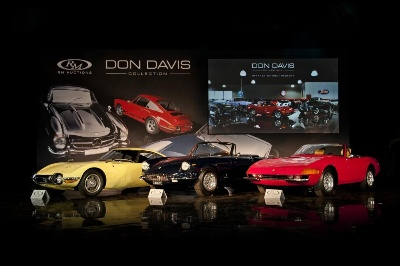RM Auctions' Don Davis Collection Attracts Texas-Size Bids