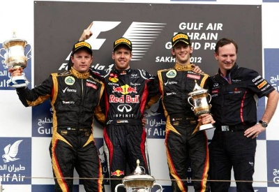 Double podiums for both the Lotus F1 and GP2 teams
