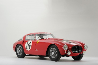 RM Auctions Announces Consignment of Ex-Works Ferrari 340/375 MM For Its Concorso D'Eleganza Villa D'Este Auction