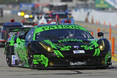 ALMS - Ferrari Fifth In The Laguna Seca 6 Hours